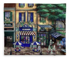 Italian Cafe Fleece Blanket