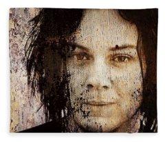 Jack White Fleece Blanket