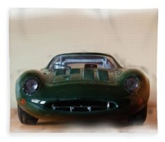 Jaguar Xj13 Fleece Blanket