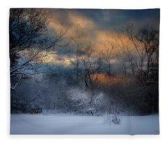 January Michigan Fleece Blanket