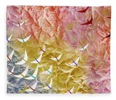 Japanese Modern Interior Art #123 Fleece Blanket