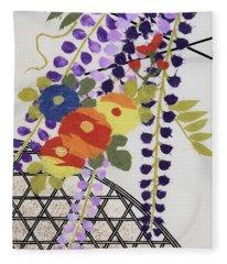 Japanese Modern Interior Art #49 Fleece Blanket