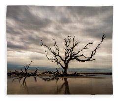 Jekyll Tree Fleece Blanket