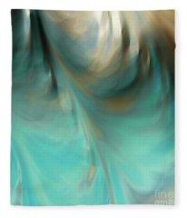 Jeremiah 33 3. Call To Me Fleece Blanket