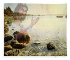 Jesus, Come Follow Me Fleece Blanket