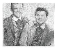 Jim And Artimus Fleece Blanket