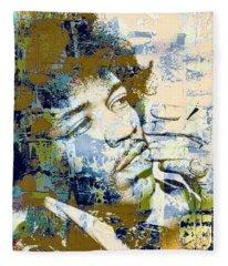 Jimi Soul Fleece Blanket