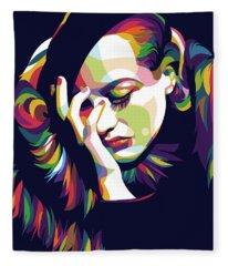Joan Crawford Fleece Blanket