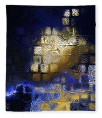 John 16 13. He Will Guide You Fleece Blanket