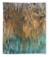 John 4 14. Never Thirst Fleece Blanket