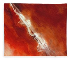 John 5 24. Passed From Death To Life Fleece Blanket