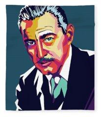 John Barrymore Fleece Blanket