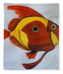 John Dory Fleece Blanket
