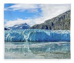 John Hopkins Glacier 1 Fleece Blanket