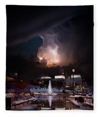 Joy To The World Fleece Blanket