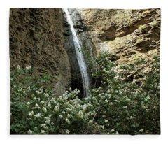 Jump Creek Falls Canyon Fleece Blanket