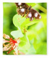 Jungle Bug Fleece Blanket