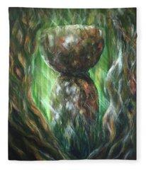 Jungle Latte Stone Fleece Blanket