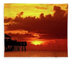 Juno Pier 1 Fleece Blanket