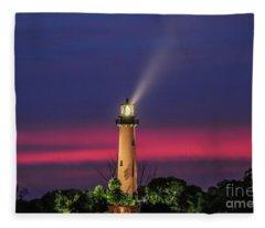 Jupiter Light Beam Fleece Blanket