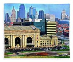 Kansas City 2019 Fleece Blanket