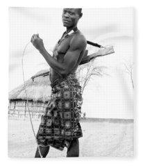 Karo Man  Fleece Blanket