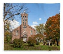 Kateri Tekakwitha Center And St. Joseph Chapel Fleece Blanket