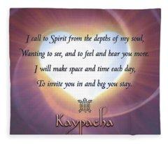 Kaypacha - March 20, 2019 Fleece Blanket