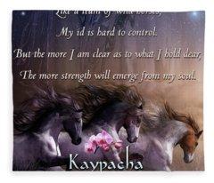 Kaypacha - November 14, 2018 Fleece Blanket