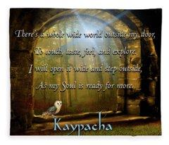 Kaypacha - November 21, 2018 Fleece Blanket