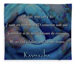 Kaypacha - November 28, 2018 Fleece Blanket