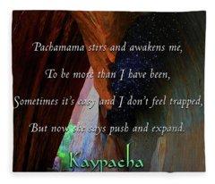 Kaypacha - October 24, 2018 Fleece Blanket