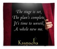 Kaypacha - September 12, 2018 Fleece Blanket