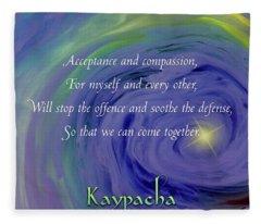 Kaypacka - February 27, 2019 Fleece Blanket