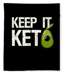 Keep It Keto Fleece Blanket