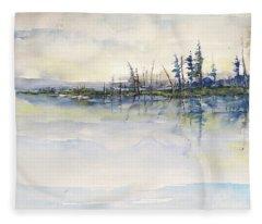 Lake Blessings Fleece Blanket