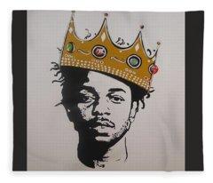 Kendrick The King Fleece Blanket