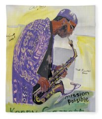 Kenny Garrett Fleece Blanket