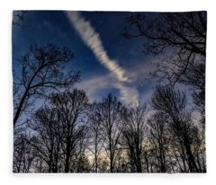 Kentucky Sky Fleece Blanket