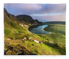 Kidney Lake Fleece Blanket