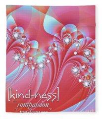 Kindness Fleece Blanket