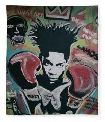 King Basquiat Fleece Blanket