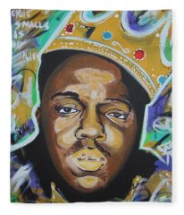 King Christopher Fleece Blanket