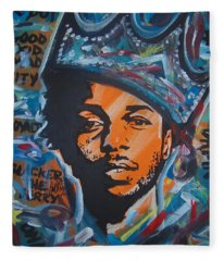 King Lamar Fleece Blanket