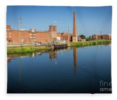 King Mill - Augusta Ga 1 Fleece Blanket