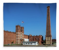King Mill - Augusta Ga 2 Fleece Blanket
