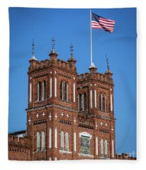 King Mill - Augusta Ga 3 Fleece Blanket