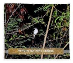 Kingbird In Casha - Virgin Nature Series Fleece Blanket