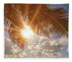 Kingdom Of Hawai'i Fleece Blanket