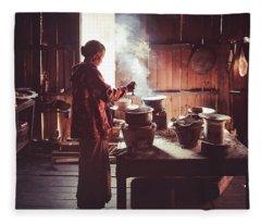 Kitchen Fleece Blanket